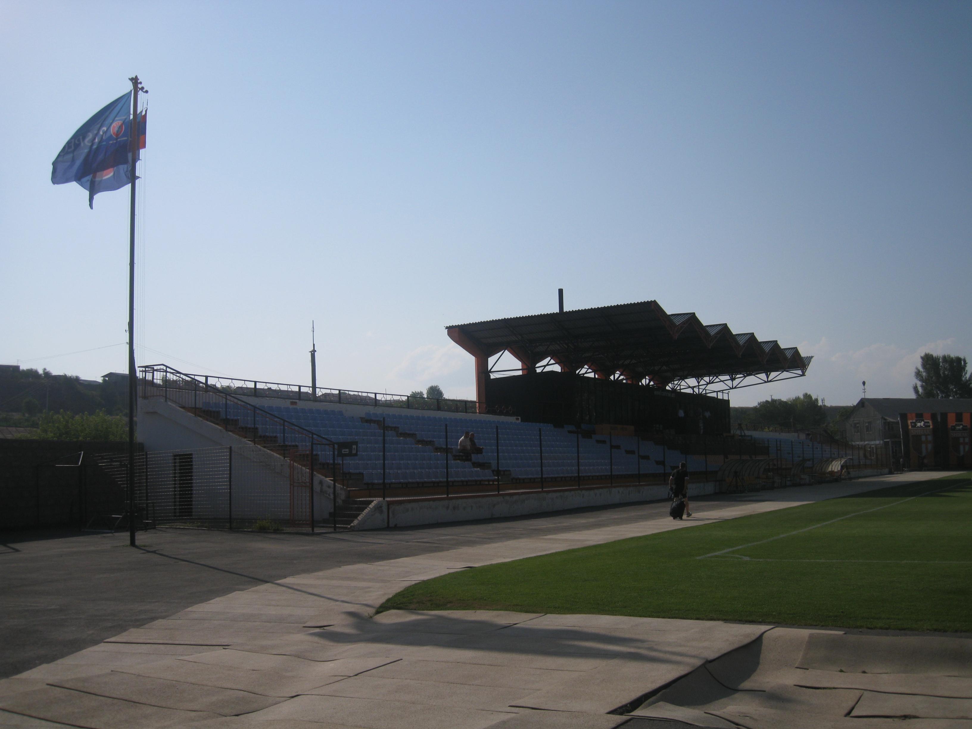 Stadion lokalnog kluba Širak - Photo: Vladimir Šoškić