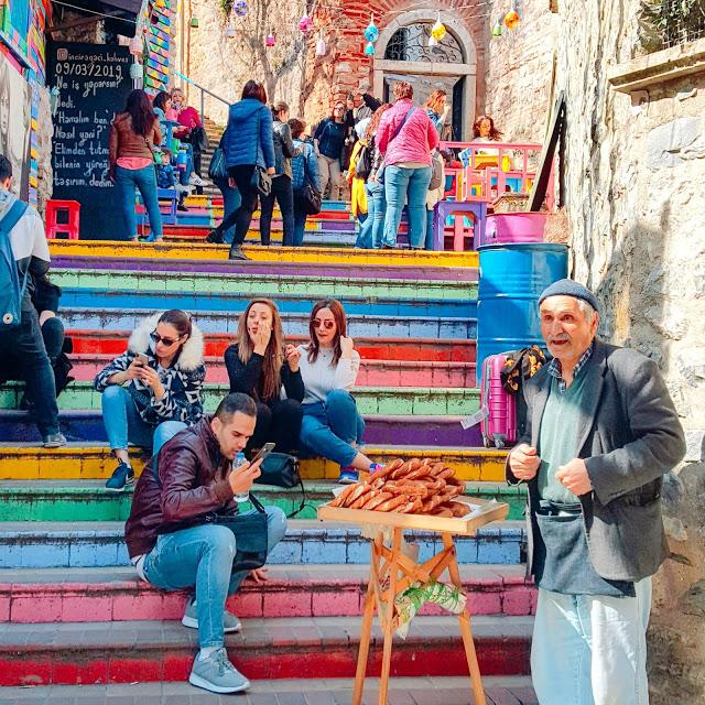 Dugine stepenice u Balat četvrti - Photo: Svjetski putnik